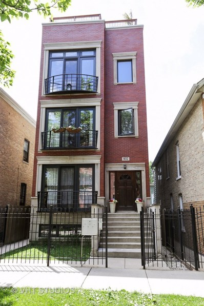 832 N Washtenaw Avenue UNIT 1, Chicago, IL 60622 - MLS#: 09754655