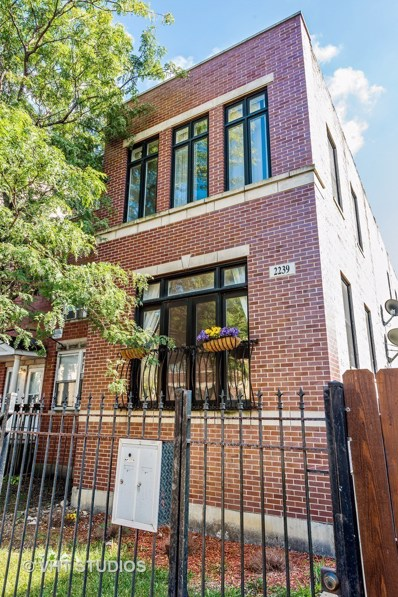 2239 W WARREN Boulevard UNIT 1, Chicago, IL 60612 - MLS#: 09757125