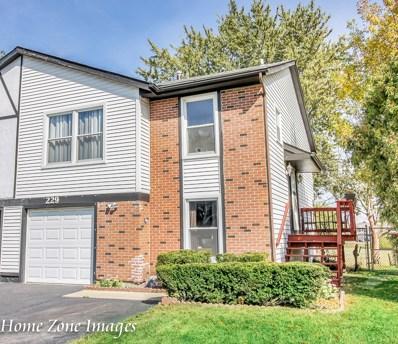 229 Hywood Lane, Bolingbrook, IL 60440 - MLS#: 09758132