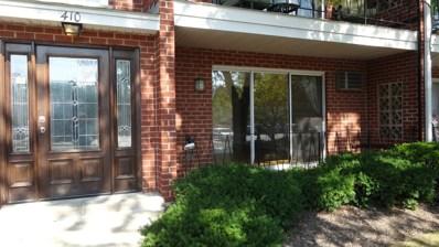 410 Crescent Boulevard UNIT 1C, Lombard, IL 60148 - MLS#: 09758992