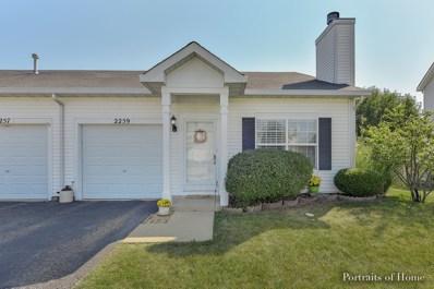 2259 Rebecca Circle, Montgomery, IL 60538 - MLS#: 09762591