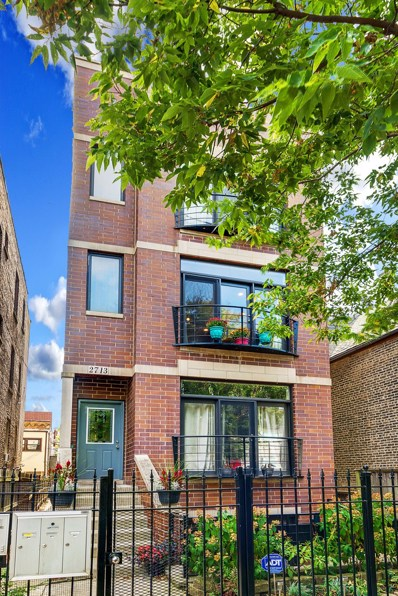 2713 W HADDON Avenue UNIT 2, Chicago, IL 60622 - MLS#: 09770102