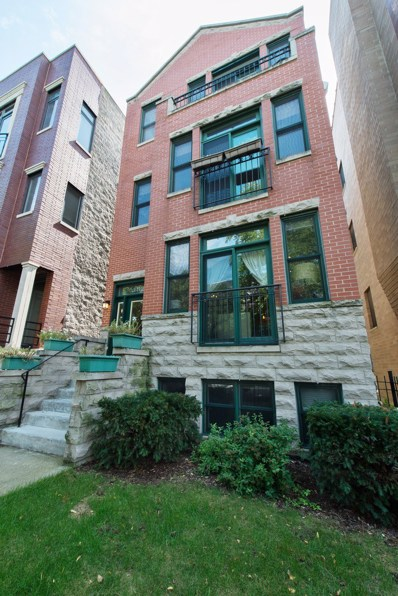 1825 W IOWA Street UNIT 3, Chicago, IL 60622 - MLS#: 09774514