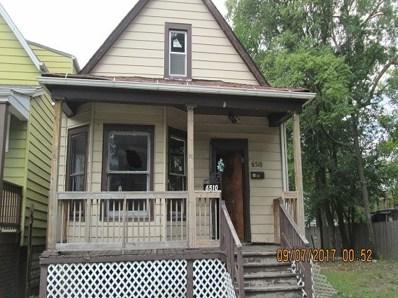 6510 S Wolcott Avenue, Chicago, IL 60636 - MLS#: 09777157