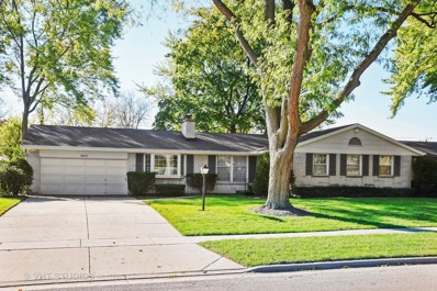 1431 Maple Lane, Elgin, IL 60123 - #: 09781300