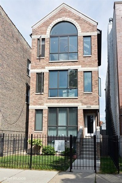 2446 W Walton Street UNIT 3, Chicago, IL 60622 - MLS#: 09787307