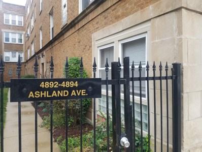 4894 N ASHLAND Avenue UNIT 1W, Chicago, IL 60640 - MLS#: 09792536