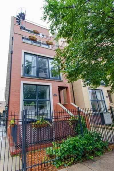 613 N Noble Street UNIT 2, Chicago, IL 60642 - MLS#: 09794256