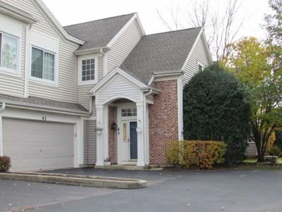 43 W Briarwood Drive, Streamwood, IL 60107 - MLS#: 09796254
