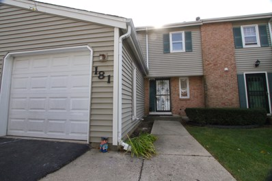 181 JEFFREY Lane, Bolingbrook, IL 60440 - MLS#: 09796463