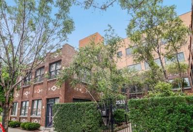 2533 N ASHLAND Avenue UNIT 3B, Chicago, IL 60614 - MLS#: 09797246