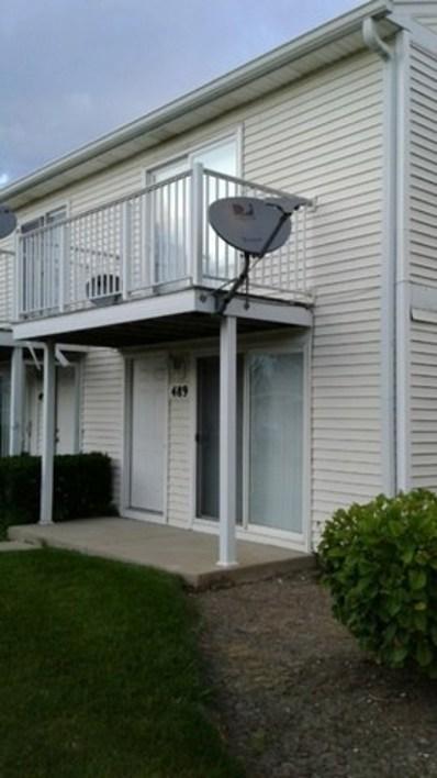 489 Meadow Green Lane UNIT 489, Round Lake Beach, IL 60073 - MLS#: 09797625