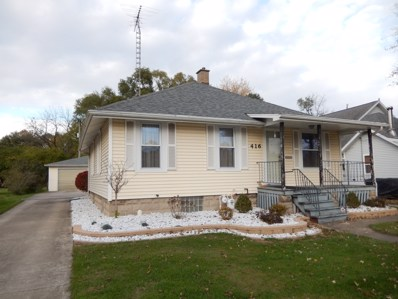 416 E 6th Street, Momence, IL 60954 - MLS#: 09799777