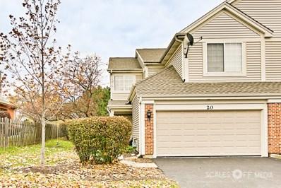 20 W Briarwood Drive, Streamwood, IL 60107 - MLS#: 09803980