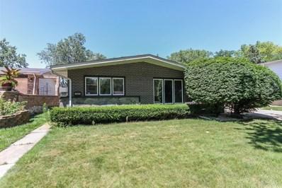 731 W Sunset Drive, Glenwood, IL 60425 - MLS#: 09804877