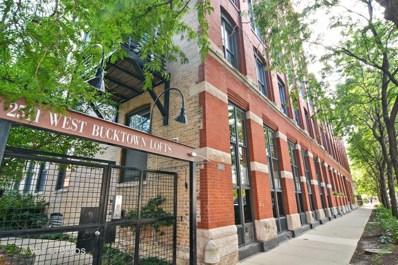 2511 W Moffat Street UNIT 108, Chicago, IL 60647 - MLS#: 09807057