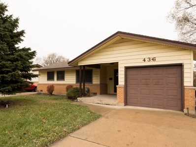 436 Landmeier Road, Elk Grove Village, IL 60007 - MLS#: 09807447