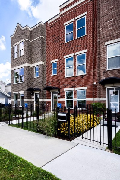 3613 S Morgan Street UNIT G, Chicago, IL 60609 - MLS#: 09813358