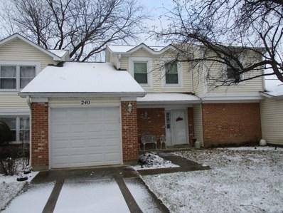 240 Stanyon Lane, Bloomingdale, IL 60108 - #: 09815635