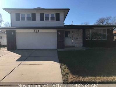 804 W ARQUILLA Drive, Glenwood, IL 60425 - MLS#: 09816201