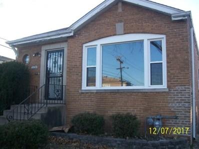14326 S Eggleston Avenue, Riverdale, IL 60827 - MLS#: 09816374