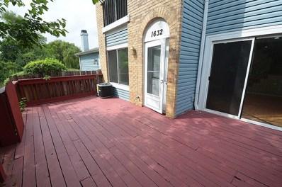 1632 Islandview Court, Hoffman Estates, IL 60169 - #: 09824928