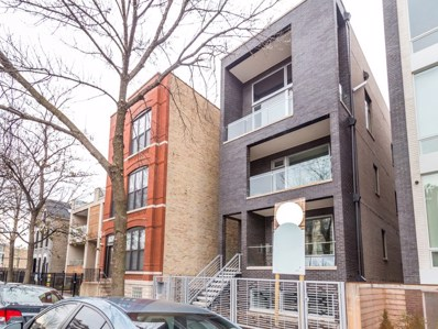 1516 W Huron Street UNIT 1, Chicago, IL 60642 - MLS#: 09825420