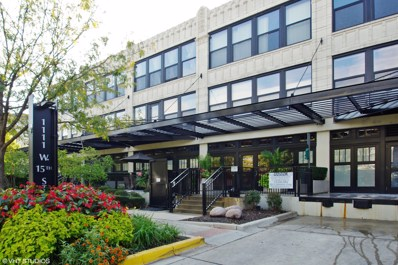 1111 W 15th Street UNIT 411, Chicago, IL 60608 - MLS#: 09827787