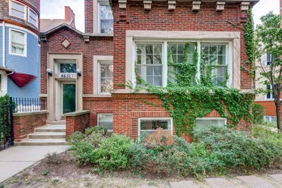 4631 S Ellis Avenue UNIT 3R, Chicago, IL 60653 - MLS#: 09830031