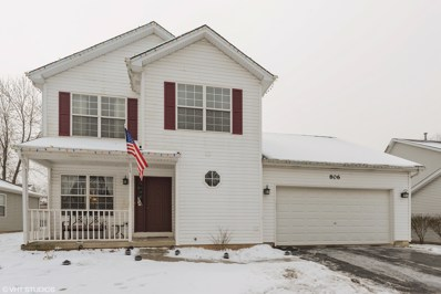 806 S Oak Creek Drive, Genoa, IL 60135 - MLS#: 09830436