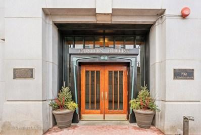732 S Financial Place UNIT 804, Chicago, IL 60605 - MLS#: 09830452