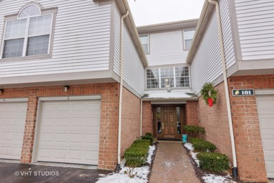 101 Kristin Circle UNIT 2, Schaumburg, IL 60195 - MLS#: 09831858