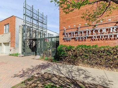 1300 W ALTGELD Street UNIT 125, Chicago, IL 60614 - MLS#: 09832504