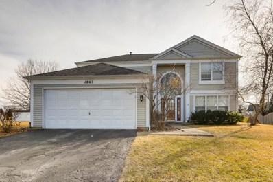 1863 Gleneagle Circle, Elgin, IL 60123 - #: 09833605