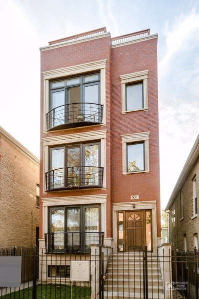 832 N Washtenaw Avenue UNIT 3, Chicago, IL 60622 - MLS#: 09835877