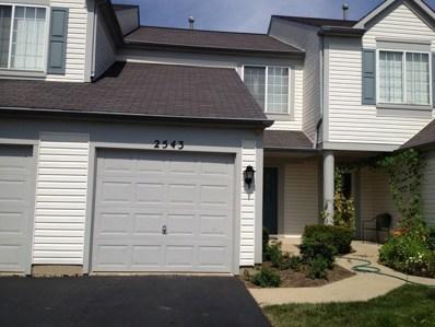 2543 Carrolwood Road, Naperville, IL 60540 - MLS#: 09839963