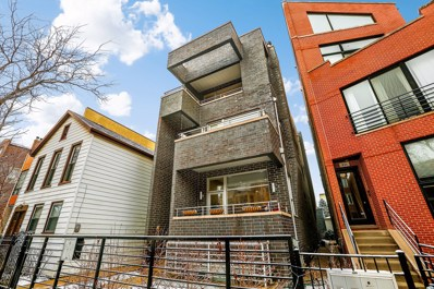 833 N HERMITAGE Avenue UNIT 3, Chicago, IL 60622 - MLS#: 09840803