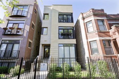 2453 W THOMAS Street UNIT 1, Chicago, IL 60622 - MLS#: 09842568