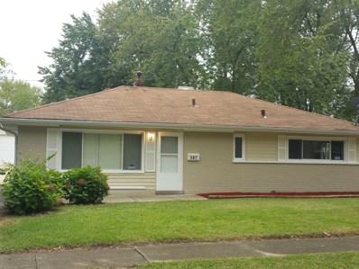 187 Shabbona Drive, Park Forest, IL 60466 - MLS#: 09842709