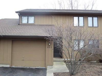 883 Shakespeare Drive, Grayslake, IL 60030 - MLS#: 09845135