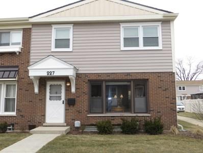 227 Frederick Place UNIT 0, Wood Dale, IL 60191 - MLS#: 09848229