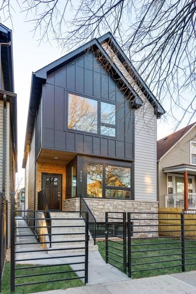 4104 N Drake Avenue, Chicago, IL 60618 - MLS#: 09849080
