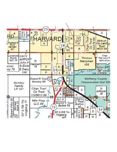 25.41 Ac  McGuire Road, Harvard, IL 60033 - #: 09850262
