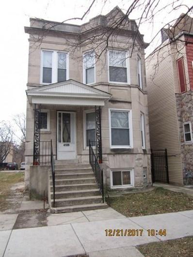 4109 W Wilcox Street, Chicago, IL 60624 - MLS#: 09850808