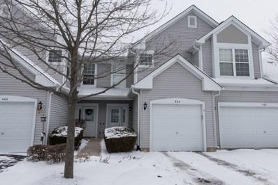 404 Cobblestone Court, Oswego, IL 60543 - MLS#: 09851042