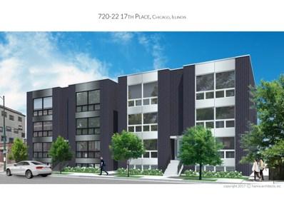 722 W 17th Place UNIT 2W, Chicago, IL 60616 - MLS#: 09851438