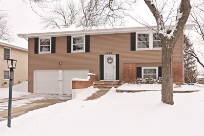 1409 Hassell Place, Hoffman Estates, IL 60169 - #: 09852387