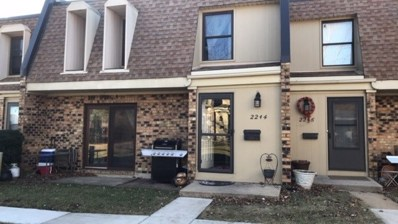 2244 Country Club Drive UNIT 36-2E, Woodridge, IL 60517 - MLS#: 09855852