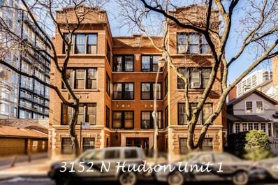 3152 N Hudson Avenue UNIT 1, Chicago, IL 60657 - MLS#: 09857705