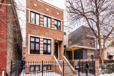 1652 W Huron Street, Chicago, IL 60622 - MLS#: 09857937